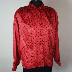 Vintage Oscar de la Renta blouse